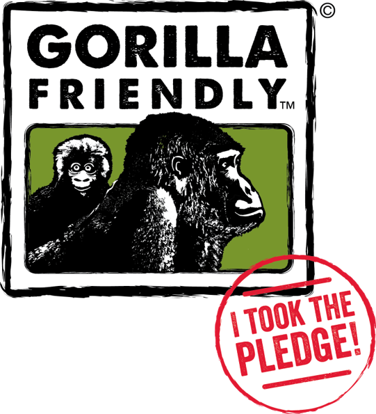 GORILLA FRIENDLY PLEDGE
